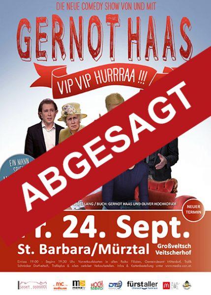 Abgesagt-Gernot-Haas-Kabarett